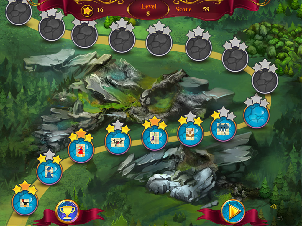 Mystery Mosaics 2 from www ANAWIKI com - games you wanna
