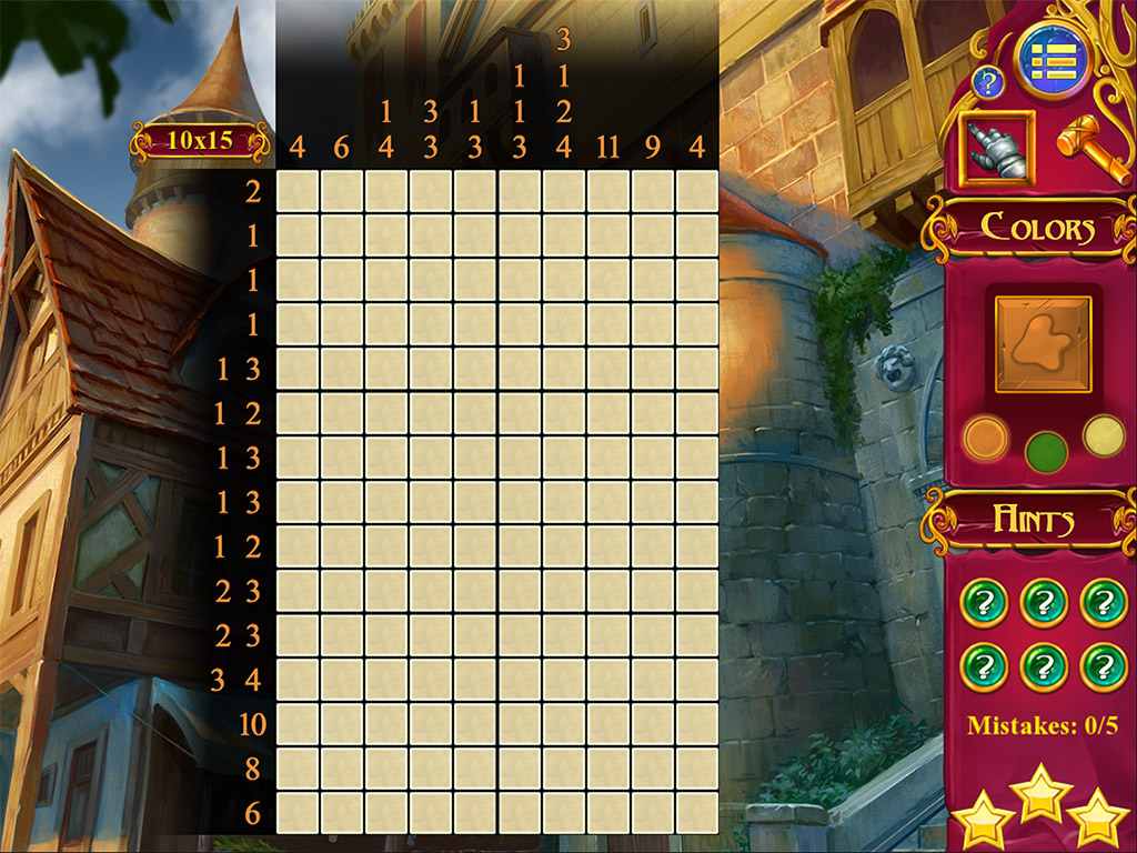 Mystery Mosaics 2 from www ANAWIKI com - games you wanna