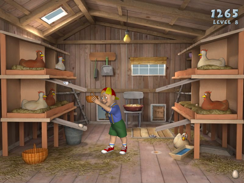 Chicken egg catching game free download